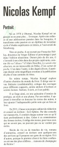 Article Elan juin 2011